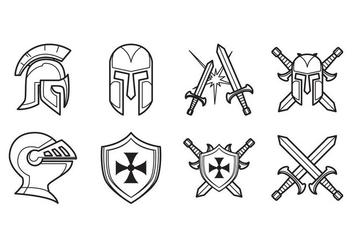 Free Medieval Icon Vector - Free vector #375927
