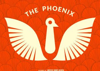 Bird phoenix logo - Kostenloses vector #376727