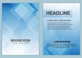 Free Vector Business brochure - Kostenloses vector #377647