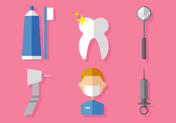 Vector Dental - Kostenloses vector #378097