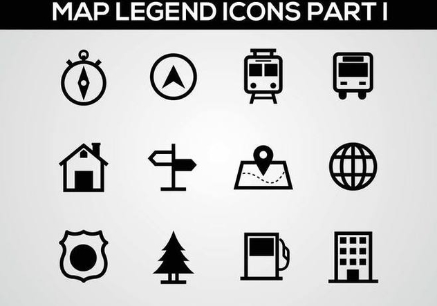Free Map Legend Part I Vector - vector gratuit(e) #378227