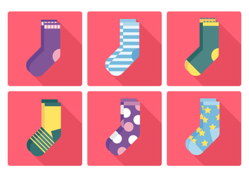 Vector Socks - vector gratuit #378377