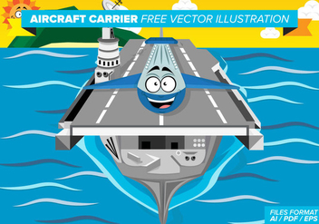 Aircraft Carrier Free Vector Pack - vector gratuit #378907
