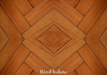 Free Vector Wood Floor Background - Free vector #379047