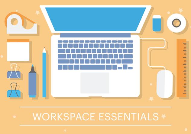 Free Flat Business Office Vector Elements - vector gratuit(e) #379127
