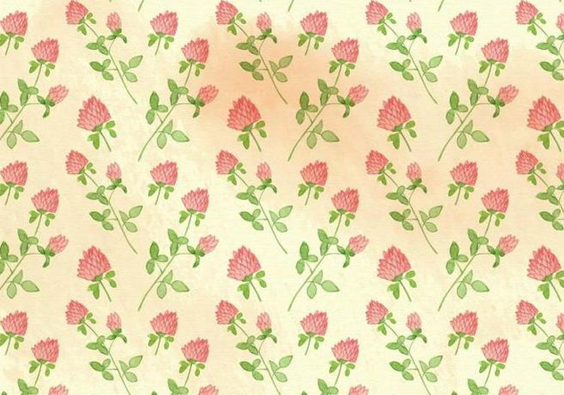 Free Vector Watercolor Flowers Background - Free vector #379237