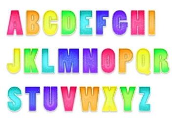 Letras Letters Alphabet Set B - Free vector #379607