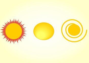 Sun vector - Kostenloses vector #379987