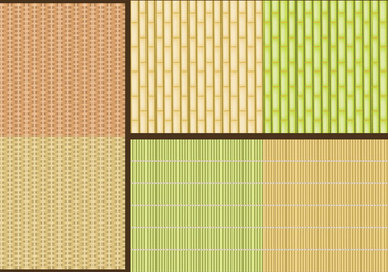 Reed Patterns - vector gratuit #380277