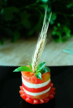 Tasty caprese salad - Kostenloses image #380477
