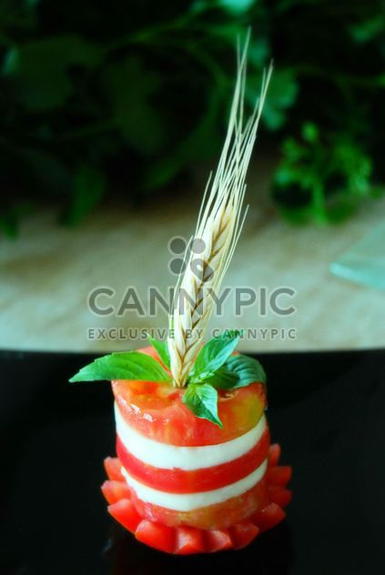 Tasty caprese salad - image #380477 gratis