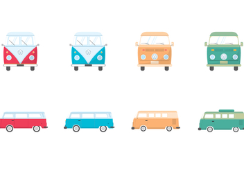 Free VW Camper Vector - Free vector #380727