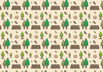 Free Wood Logs Vector - бесплатный vector #380847