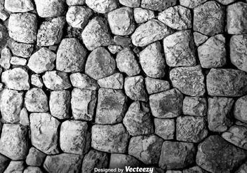 Vector Texture Of A Wall Of Rocks - Free vector #381447