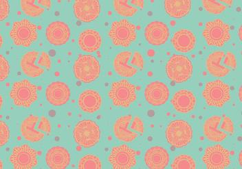 Mooncake Pattern Vector - бесплатный vector #381727