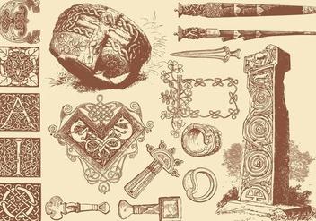 Celtic Art Crafts - Kostenloses vector #381777