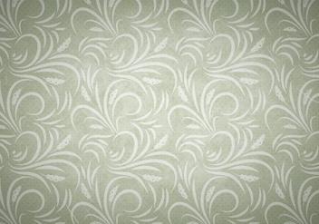 Olive Vector Western Flourish Seamless Pattern - Kostenloses vector #382057