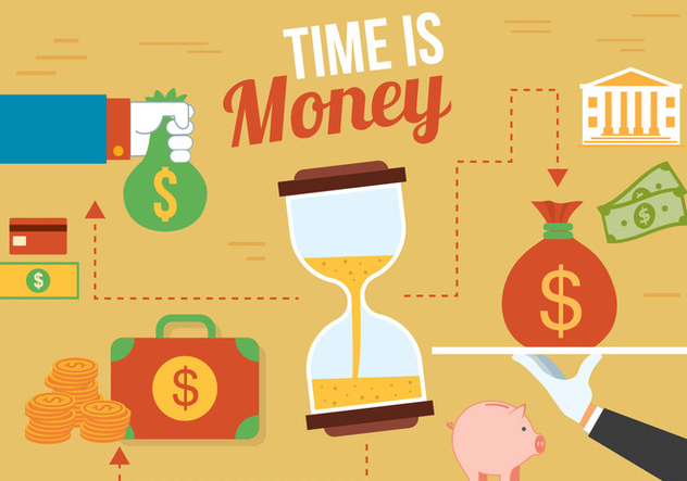 Free Time Vector Illustration - Free vector #382707