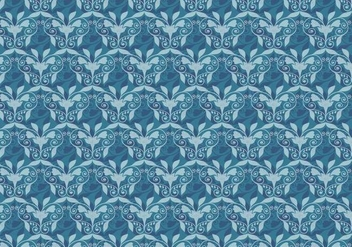 Free Vector Western Flourish Pattern - Free vector #382787