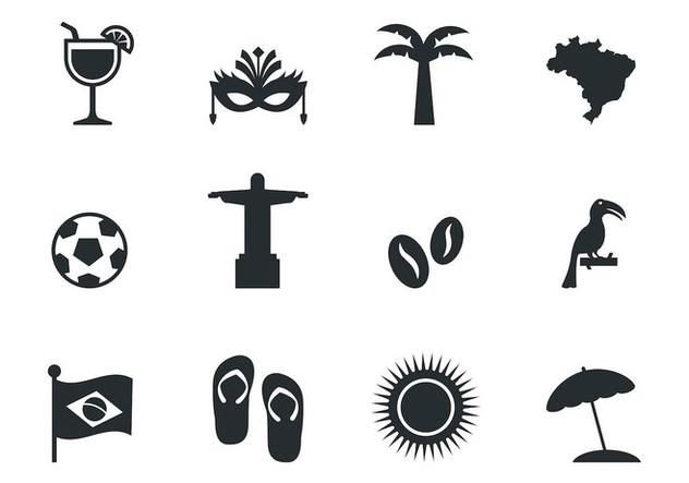 Free Brazil Icons Vector - Kostenloses vector #383217
