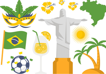 Free Brazil Illustration Icon and Symbol Vector - Kostenloses vector #383867