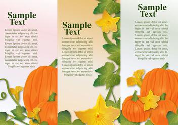 Pumpkin Banners - vector gratuit #384817
