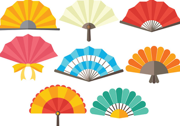 Free Spanish Fan Icons Vector - vector #384837 gratis