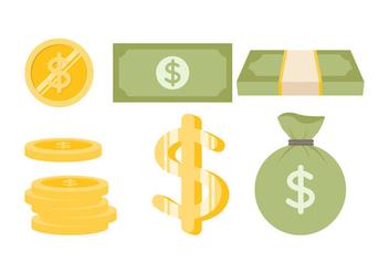 Free Dollar Vector 1 - Kostenloses vector #384907