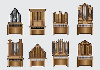 Free Pipe Organ Vector - Free vector #385317