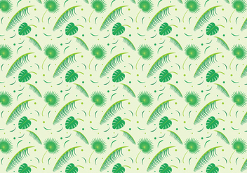 Free Palm Leaf Vector - Kostenloses vector #385607