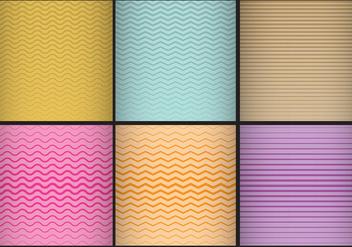 Degrade Strip Patterns - vector #385627 gratis