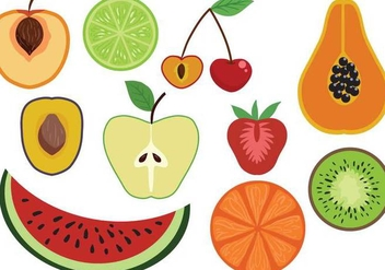 Free Fruit Vectors - бесплатный vector #386187