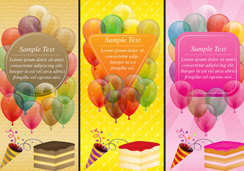 Party Templates - vector #386377 gratis