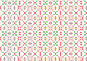 Geometric Squares Pattern - Free vector #386527