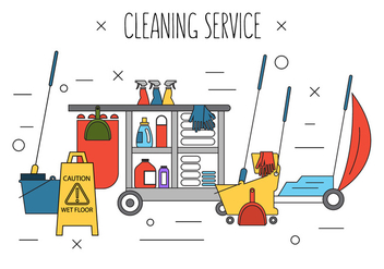 Free Cleaning Icons - Kostenloses vector #386737
