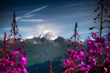 Mont Blanc depuis les Arcs 2000 - image gratuit #387037