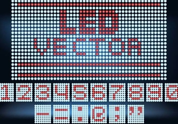 Led Screen Vector - vector #387347 gratis