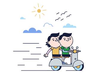 Free Ride Vector - Kostenloses vector #387377