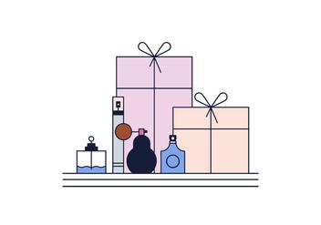 Free Perfumes Vector - Kostenloses vector #387417