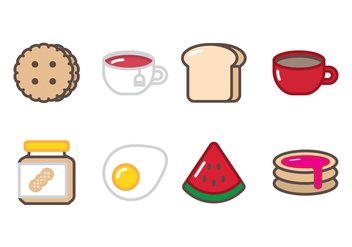 Breakfast Icon - vector #388107 gratis