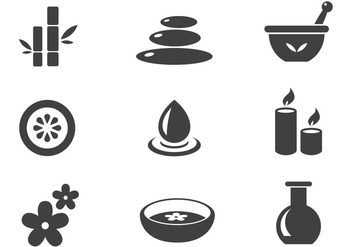 Free Spa Icon - vector #388177 gratis