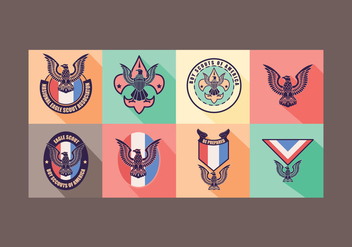 Eagle Scout Vector - Free vector #388747