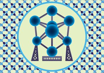 Atomium Vector Art - Free vector #390017