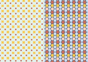 Ornamental Mosaic Pattern - Kostenloses vector #390047