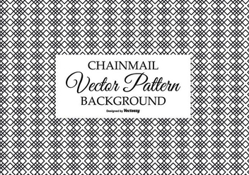 Chainmail Style Seamless Background - vector gratuit #390537