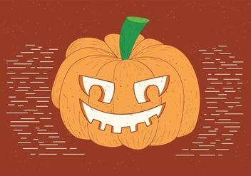 Free Spooky Vector Pumpkinhead - Kostenloses vector #390897