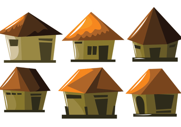 Small Shack Vector - vector #391217 gratis