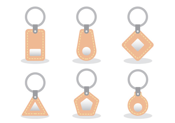 Key Holder Vector Set - бесплатный vector #391487