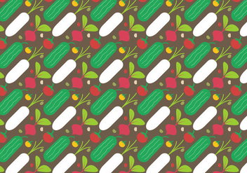 Free Vegetables Vector - vector #391547 gratis