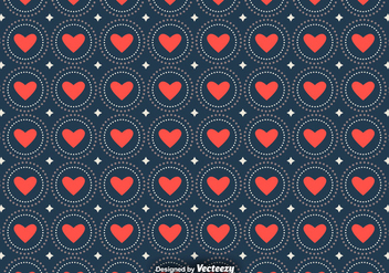 Vector Love Seamless Patterns - Free vector #391957